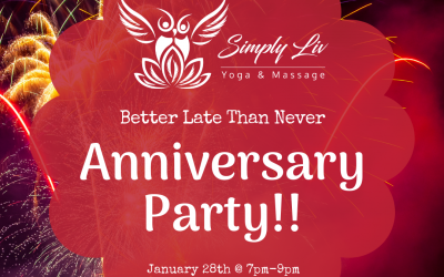 Better Late Than Never Anniversary Party!